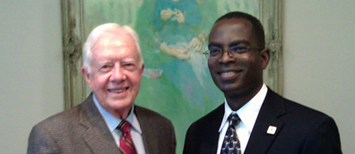 President Carter praises Ashesi focus on honour and integrity