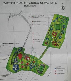 Campus Master Plan for Ashesi University