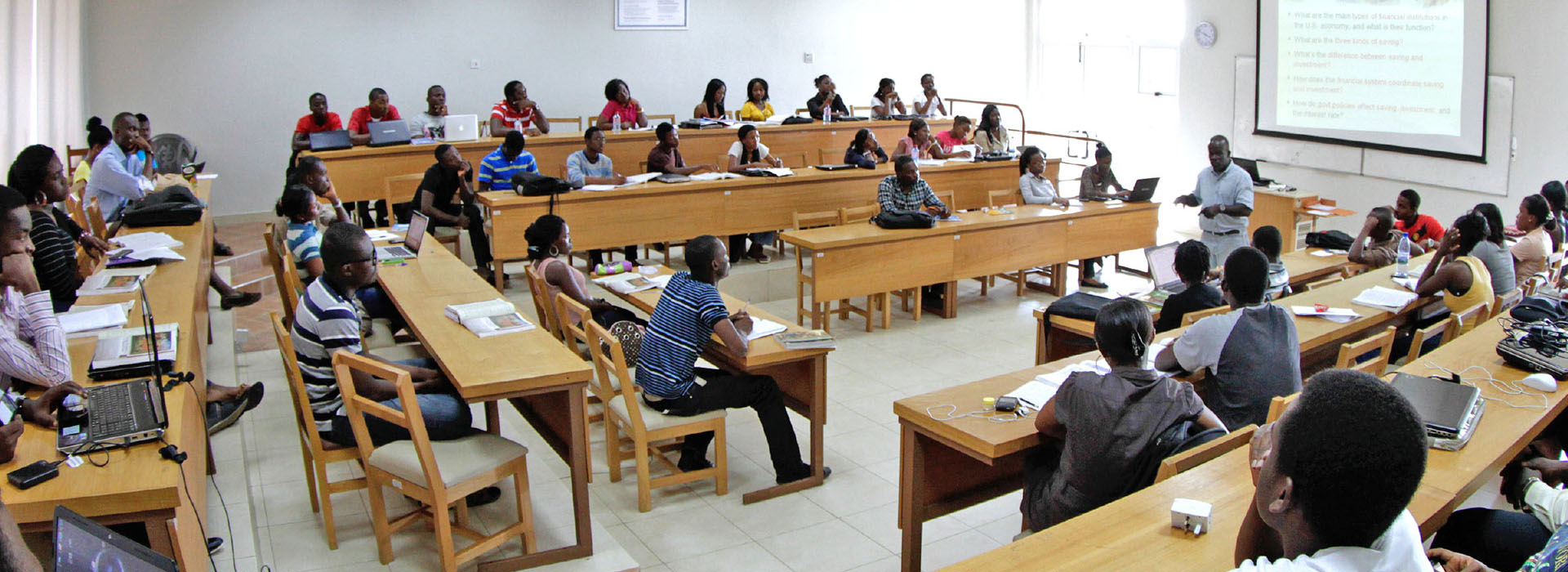 <p>Training a new generation of ethical, entrepreneurial leaders in Africa</p>
