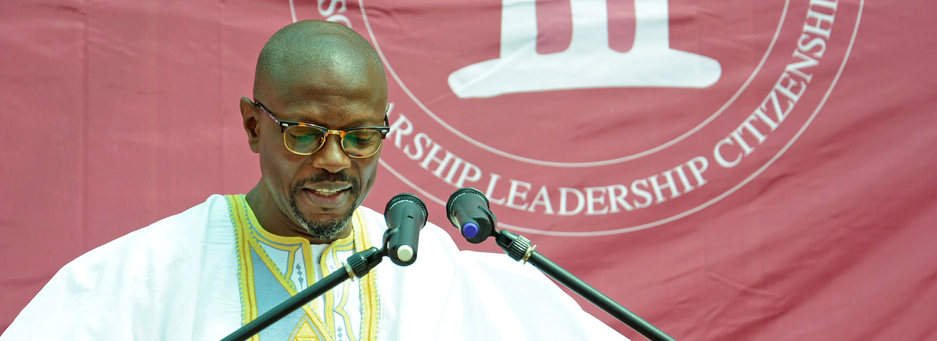 <p>Kwaku Sakyi-Addo makes a strong call to Class of 2014</p>