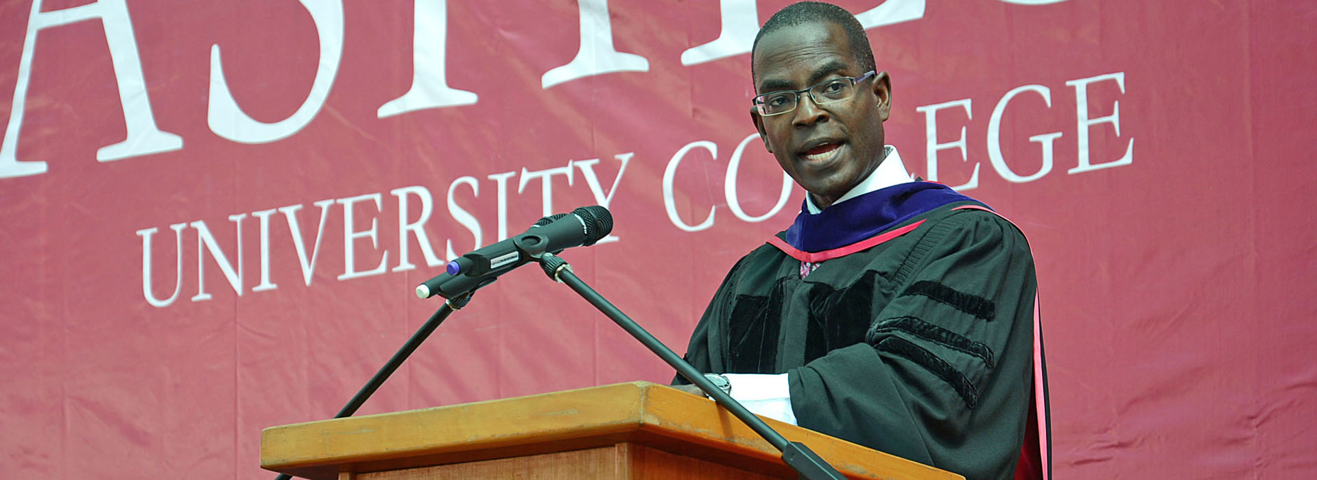 <p>Ashesi's President shares three big lessons with the Class of 2014</p>